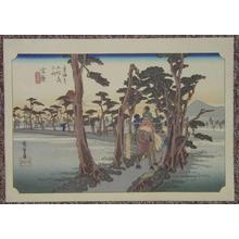 歌川広重: Yoshiwara - Japanese Art Open Database