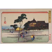 歌川広重: Gohyaku Rakan Temple — 五百羅漢さゞゐ堂 - Japanese Art Open Database