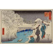 Utagawa Hiroshige: Ochanomizu — 御茶の水 - Japanese Art Open Database