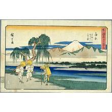歌川広重: Kanbara - Japanese Art Open Database