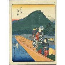 歌川広重: Kanbara - Japanese Art Open Database
