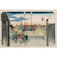 Utagawa Hiroshige: Nihonbashi - Japanese Art Open Database