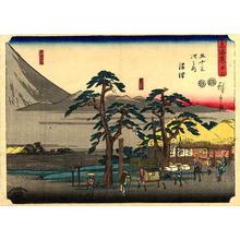 Utagawa Hiroshige: Numazu - Japanese Art Open Database