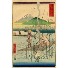 Utagawa Hiroshige: Sagami River, Province of Shoshu - Japanese Art Open Database