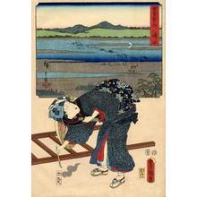 Hiroshige 1 and Kunisada 1: Odawara - Japanese Art Open Database
