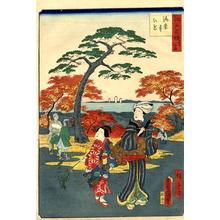 Hiroshige 2 and Kunisada 1: Kaianji Temple - Japanese Art Open Database