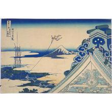葛飾北斎: Honganji Temple at Asakusa in Edo — 東都浅艸本願寺 - Japanese Art Open Database