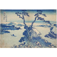 葛飾北斎: Lake Suwa in Shinano Province — 信州諏訪湖 - Japanese Art Open Database