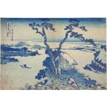 葛飾北斎: Lake Suwa in Shinano Province — 信州諏訪湖 - Japanese Art Open Database