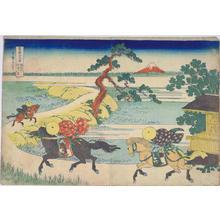 葛飾北斎: Sekiya by the Sumida River — 隅田川関屋の里 - Japanese Art Open Database