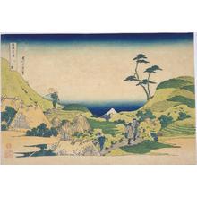 葛飾北斎: Shimo-Meguro — 下目黒 - Japanese Art Open Database
