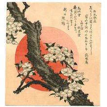 Katsushika Hokusai: flower - Japanese Art Open Database