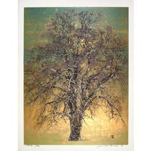星襄一: Great Tree in Early Spring - Japanese Art Open Database