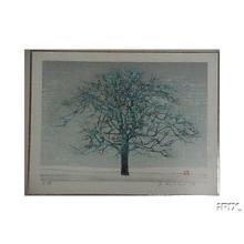 星襄一: Unknown, leafless tree - Japanese Art Open Database