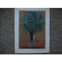 星襄一: Evening Tree — 夕の木 - Japanese Art Open Database
