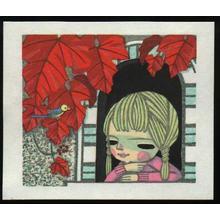 Ikeda Shuzo: A Girl in Autumn - Japanese Art Open Database