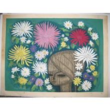 Ikeda Shuzo: Chrysanthemums — 菊 - Japanese Art Open Database