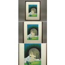 Ikeda Shuzo: Dogtooth Violet — かたくりの花 - Japanese Art Open Database