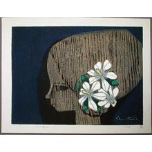 Ikeda Shuzo: Flower and Boy 2 - Japanese Art Open Database
