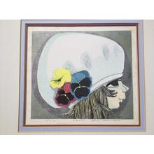Ikeda Shuzo: Pansies — パンジー - Japanese Art Open Database