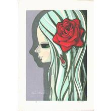 Ikeda Shuzo: Rose - Bara - Japanese Art Open Database
