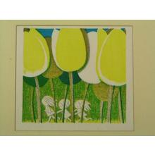 Ikeda Shuzo: Tulips (3) — チューリップ - Japanese Art Open Database