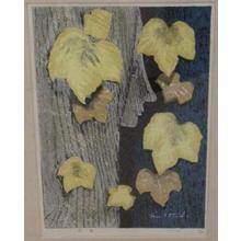 Ikeda Shuzo: Unknown, Face in Tree, Autumn - Japanese Art Open Database