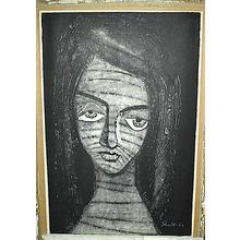 Ikeda Shuzo: Unknown, Portrait of Woman - Japanese Art Open Database