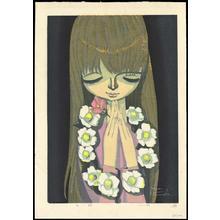Ikeda Shuzo: White Camellia- LE — 白い椿 - Japanese Art Open Database