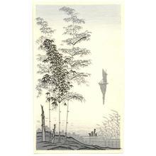 Imoto Tekiho: Lake and Bamboo - Japanese Art Open Database
