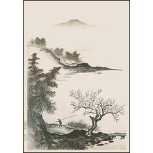Imoto Tekiho: Untitled, coastal scene - Japanese Art Open Database