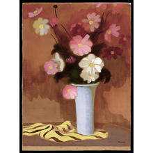 Inagaki Tomoo: Floral Still Life 1 - Japanese Art Open Database