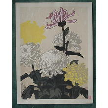 Inagaki Tomoo: Unknown, flowers - Japanese Art Open Database