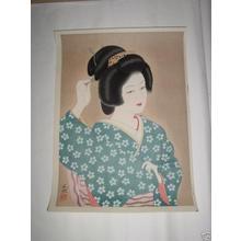 Ishida Waka: Spring Sentiment - Japanese Art Open Database