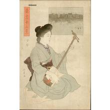 石井柏亭: Shitaya — 下谷 - Japanese Art Open Database