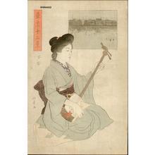 Ishii Hakutei: Shitaya — 下谷 - Japanese Art Open Database