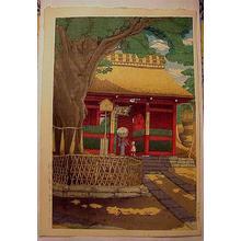 Tsuchiya Koitsu: Kannon Gate At Tsurumi - Japanese Art Open Database