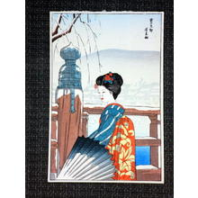 風光礼讃: Snow in Kyoto — 雪の京都 - Japanese Art Open Database