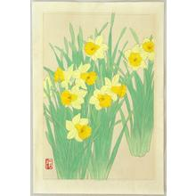 Ito Nisaburo: Daffodils - Japanese Art Open Database