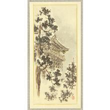 Ito Nisaburo: Kiyomizu Temple - Japanese Art Open Database