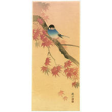 Ito Sozan: Blue Bird in Autumn - Japanese Art Open Database