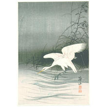 Ito Sozan: Egret - Japanese Art Open Database