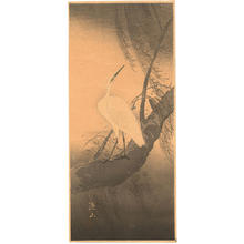 Ito Sozan: White Egret - Japanese Art Open Database