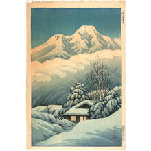 Henmi Takashi: Mt Myoko-zan at dawn - Japanese Art Open Database