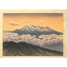 逸見享: Mt Ontake, Kiso — 木曽御嶽 - Japanese Art Open Database