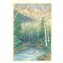 Henmi Takashi: Takegawa River at Dawn - Japanese Art Open Database