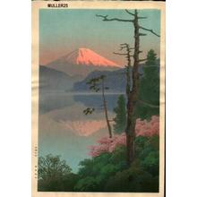 Ito Yuhan: Fuji from Taganoura - Japanese Art Open Database