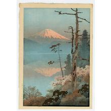 Ito Yuhan: Fuji from Taganoura - Japanese Art Open Database