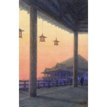 Ito Yuhan: Kiyomizu Temple - Japanese Art Open Database