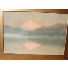 Ito Yuhan: Mt Fuji and lake - Japanese Art Open Database